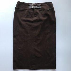 Lauren Ralph Lauren Pencil Skirt w/ two buckles